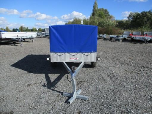 Celoplechový zinkovaný nákladní přívěs HD 20 750kg 2,06x1,11/0,83 č.2