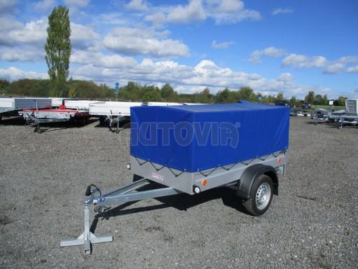 Celoplechový zinkovaný nákladní přívěs HD 20 750kg 2,06x1,11/0,83 č.1