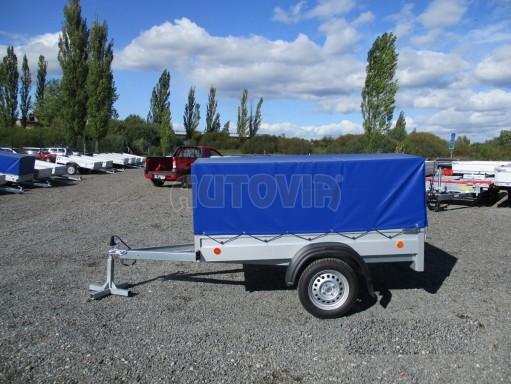 Celoplechový zinkovaný nákladní přívěs HD 20 750kg 2,06x1,11/0,83 č.3