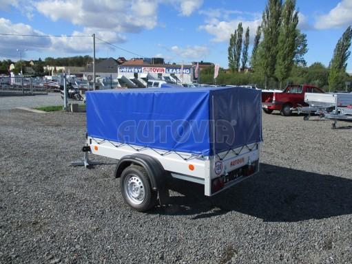 Celoplechový zinkovaný nákladní přívěs HD 20 750kg 2,06x1,11/0,83 č.4