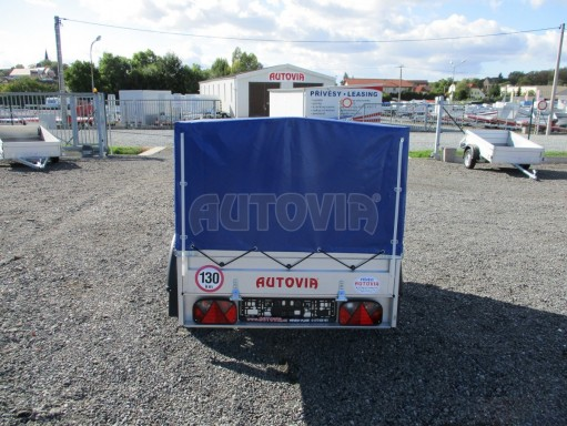 Celoplechový zinkovaný nákladní přívěs HD 20 750kg 2,06x1,11/0,83 č.5