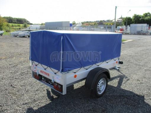 Celoplechový zinkovaný nákladní přívěs HD 20 750kg 2,06x1,11/0,83 č.6