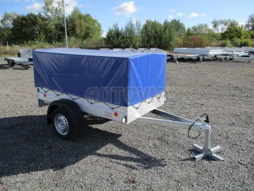 Celoplechový zinkovaný nákladní přívěs HD 20 750kg 2,06x1,11/0,83 č.8