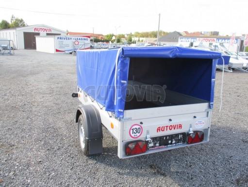 Celoplechový zinkovaný nákladní přívěs HD 20 750kg 2,06x1,11/0,83 č.9