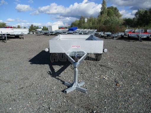 Sklopný přívěsný vozík za osobní auto HD 27 skl 2,06x1,25/0,30 č.2
