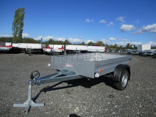 Sklopný přívěsný vozík za osobní auto HD 27 skl 2,06x1,25/0,30 č.3