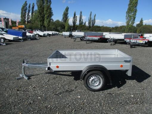 Sklopný přívěsný vozík za osobní auto HD 27 skl 2,06x1,25/0,30 č.4