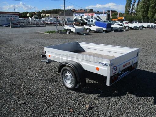 Sklopný přívěsný vozík za osobní auto HD 27 skl 2,06x1,25/0,30 č.5