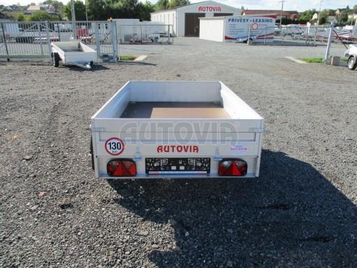 Sklopný přívěsný vozík za osobní auto HD 27 skl 2,06x1,25/0,30 č.6