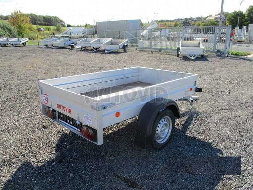Sklopný přívěsný vozík za osobní auto HD 27 skl 2,06x1,25/0,30 č.7