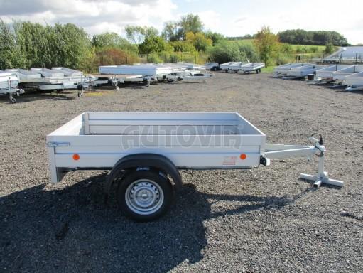 Sklopný přívěsný vozík za osobní auto HD 27 skl 2,06x1,25/0,30 č.8