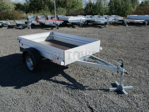 Sklopný přívěsný vozík za osobní auto HD 27 skl 2,06x1,25/0,30 č.9