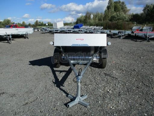 Sklopný přívěsný vozík za osobní auto HD 27 skl 2,06x1,25/0,30 č.10