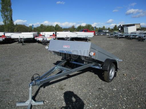 Sklopný přívěsný vozík za osobní auto HD 27 skl 2,06x1,25/0,30 č.11