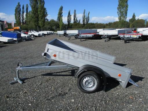Sklopný přívěsný vozík za osobní auto HD 27 skl 2,06x1,25/0,30 č.12