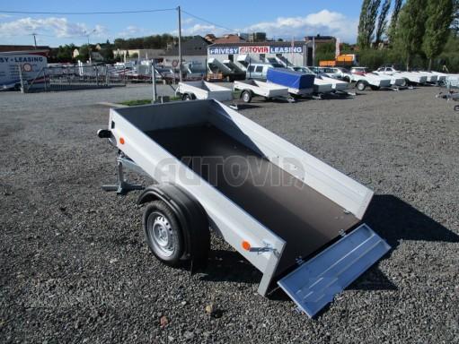 Sklopný přívěsný vozík za osobní auto HD 27 skl 2,06x1,25/0,30 č.13