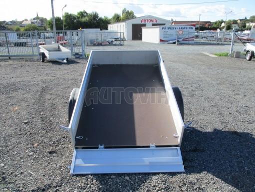 Sklopný přívěsný vozík za osobní auto HD 27 skl 2,06x1,25/0,30 č.14