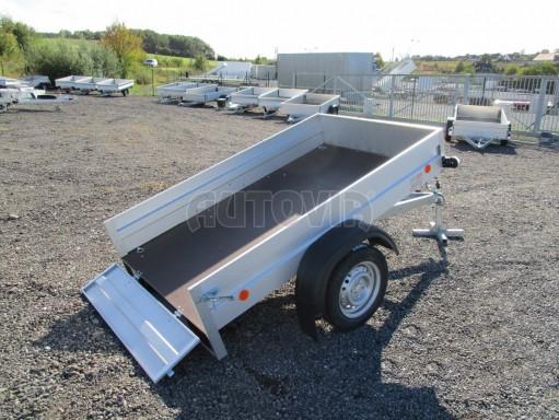 Sklopný přívěsný vozík za osobní auto HD 27 skl 2,06x1,25/0,30 č.1