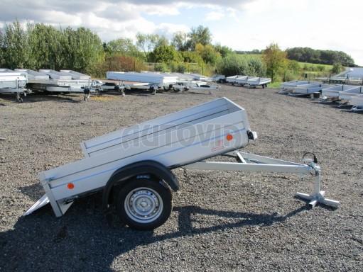 Sklopný přívěsný vozík za osobní auto HD 27 skl 2,06x1,25/0,30 č.15