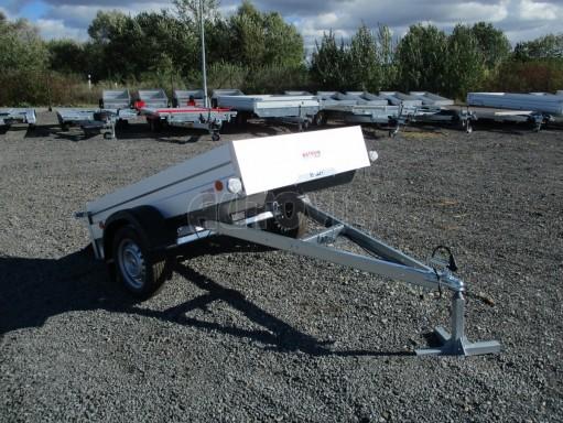 Sklopný přívěsný vozík za osobní auto HD 27 skl 2,06x1,25/0,30 č.16