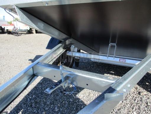 Sklopný přívěsný vozík za osobní auto HD 27 skl 2,06x1,25/0,30 č.17