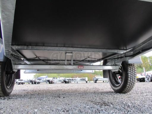 Nebrzděný přívěs pro přepravu 3ks europalet ZV 26 N1 2,50x1,30/0,35 č.17