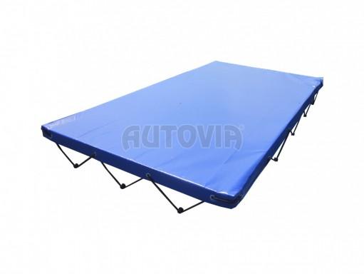 Zakrývací plachta 230,5cm x 130,5cm x 7cm modrá č.1