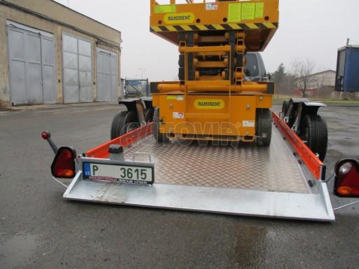 Přepravník zvedacích plošin HS 3,5T B2 3,46x1,61* č.12
