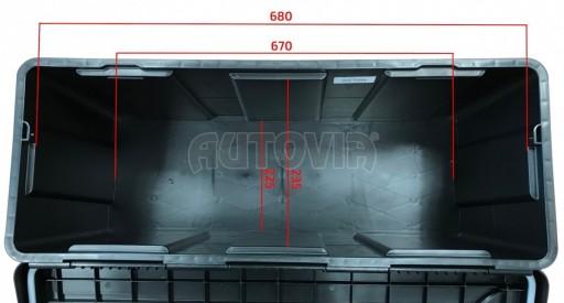Bedna na nářadí Blackit L 750mm x 300mm x 355mm č.3