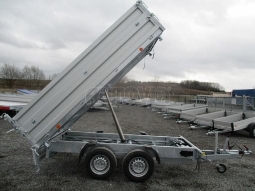 Třístranný sklápěč VER 3SKS 2,7T 3,05x1,76/0,30 el nástavba č.16