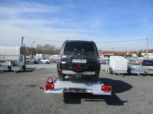 Přepravník automobilů IM 3,5T B3 5,41x2,09 el. naviják ALU č.15