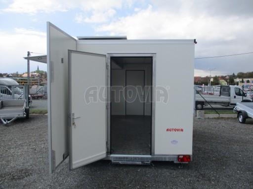Prodejní stánek izolovaný VA 2,7T 5,08x2,39/2,30 č.15