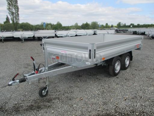 Přívěsný vozík za osobní auto CARGO 2,7T B2 3,30x1,70/0,35 č.3