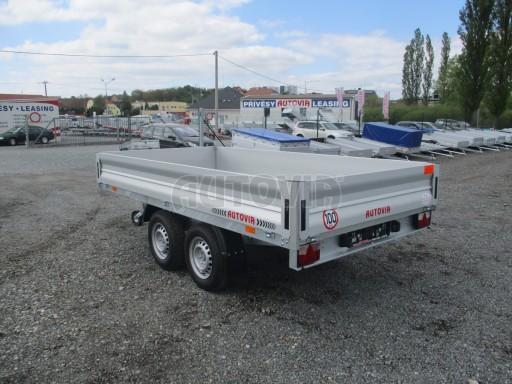 Přívěsný vozík za osobní auto CARGO 2,7T B2 3,30x1,70/0,35 č.5