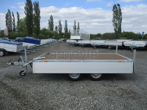 Přívěsný vozík za osobní auto CARGO 2,7T B2 3,30x1,70/0,35 č.11