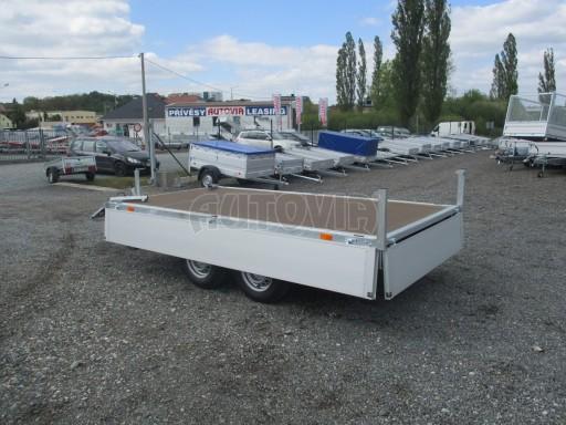 Přívěsný vozík za osobní auto CARGO 2,7T B2 3,30x1,70/0,35 č.12