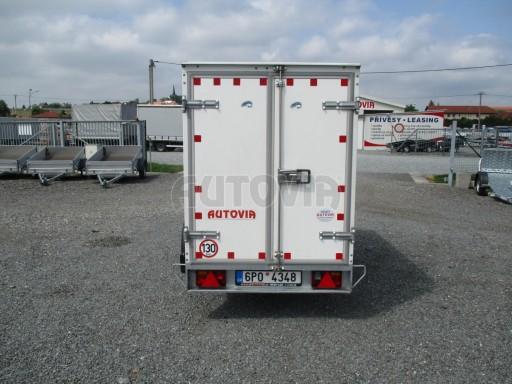 Bazarová skříň VA 750kg 2,48x1,23/1,46 č.4