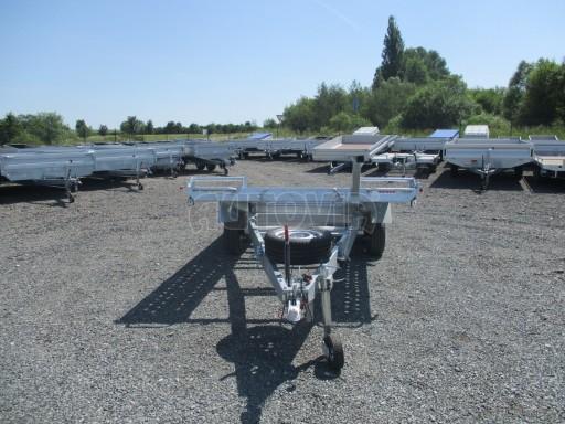 Sklápěcí přívěs pro přepravu aut KAR 11 3,0T 4,01x1,99 13