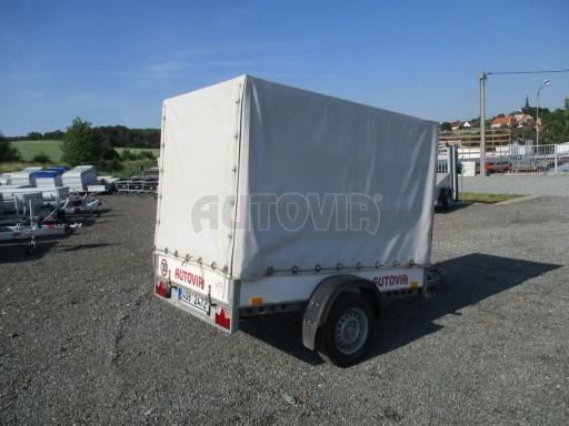 Bazarový přívěsný vozík s plachtou PV 750kg 2,10x1,28/1,50 č.5