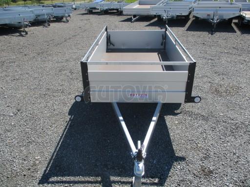 Levný přívěsný vozík s hliníkovými bočnicemi ZV 3 ALU 2,06x1,10/0,35**RE č.2