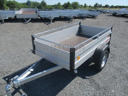 Levný přívěsný vozík s hliníkovými bočnicemi ZV 3 ALU 2,06x1,10/0,35**RE č.3