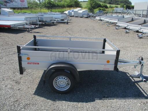 Levný přívěsný vozík s hliníkovými bočnicemi ZV 3 ALU 2,06x1,10/0,35**RE č.9