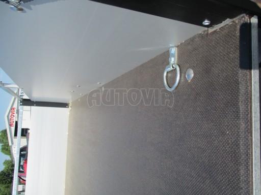 Levný přívěsný vozík s hliníkovými bočnicemi ZV 3 ALU 2,06x1,10/0,35**RE č.13