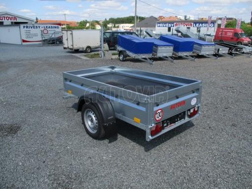 Přívěsný vozík za osobní auto PV Basic 750kg N1  2,04x1,09/0,34 č.5