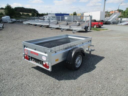 Přívěsný vozík za osobní auto PV Basic 750kg N1  2,04x1,09/0,34 č.7
