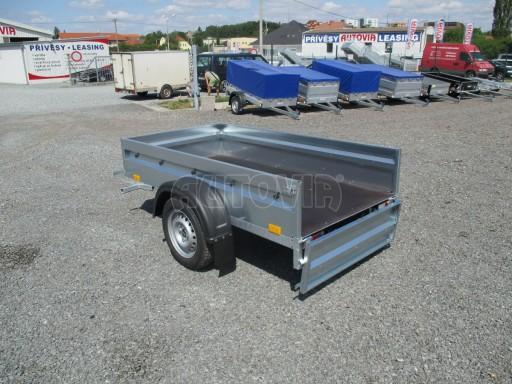 Přívěsný vozík za osobní auto PV Basic 750kg N1  2,04x1,09/0,34 č.11