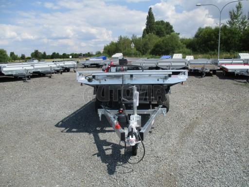 Přepravník SUV a mechanizace JB 3,5T 5,00x2,10 PLATO el.naviják* č.7