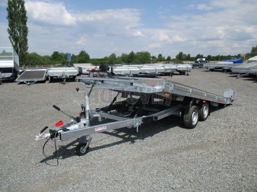 Přepravník SUV a mechanizace JB 3,5T 5,00x2,10 PLATO el.naviják* č.8