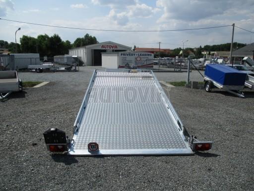 Přepravník SUV a mechanizace JB 3,5T 5,00x2,10 PLATO el.naviják* č.2
