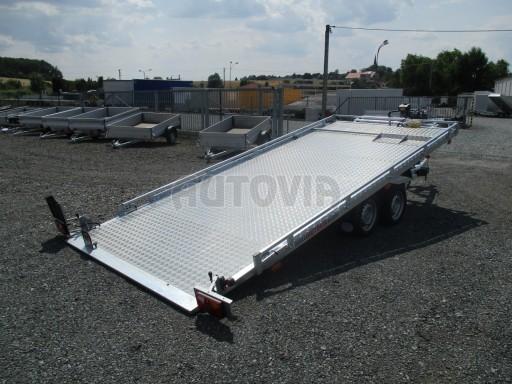 Přepravník SUV a mechanizace JB 3,5T 5,00x2,10 PLATO el.naviják* č.3